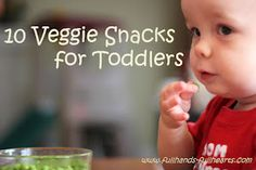 HEALTHY SNACKS AND LUNCHES FOR TODDLERS