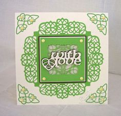 Blog tonic: Collectables - Celtic Dream - with love card from Edna