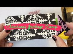 Watch this little scrap of leftover garbage rubber become a beautiful very merry Christmas stamp in no time at all! To create the print at the end, I heat em. Very Merry Christmas, Thinking Of You, Stamps, Tube, Printing, Carving, Watch, Videos, Design