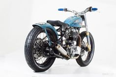 """Royal Enfield Bullet Classic 2009 by Sideburn Magazine & CFM 