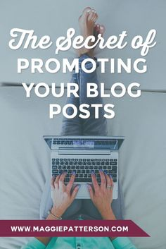 BLOGGING || Blogging is an exercise in persistence, patience and promotion. Here's how to master the promotion part and make sure you grab your FREE blogging toolkit.