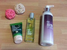 Productos de la tienda The Body Shop.