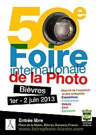 50 ème Foire internationale de la photographie à Bièvres