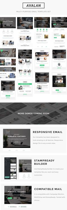 Geon  Multipurpose Responsive Email Template  Stampready Builder