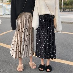 Long Skirt Fashion, Modest Fashion, Hijab Fashion, Fashion Outfits, Black Skirt Outfits, Modest Outfits, Korea Fashion, Japan Fashion, Aesthetic Fashion