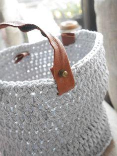 Parížankou na víkend: Ako vyrobiť pevný háčkovaný košík ?