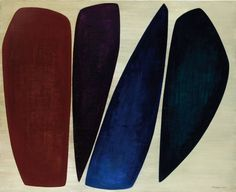 Anna-Eva Bergman, Quatre formes (Four Shapes) on ArtStack #anna-eva-bergman #art