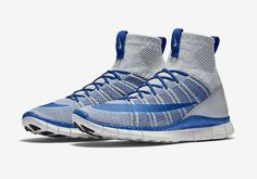 Nike Free Flyknit Mercurial Superfly Wolf Grey/Game Royal