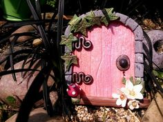 Fairy Door MAGICAL Faries Portal made of by TheCaterpillarQueen, £11.95