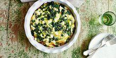 This Spanakopita recipe uses wild greens and fresh eggs to make a tasty vegetarian dish.