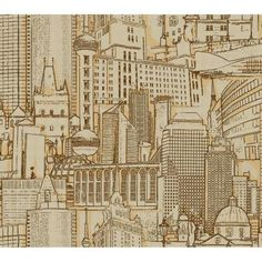 York Wallcoverings 60.75 sq. ft. Great Expectations Wallpaper