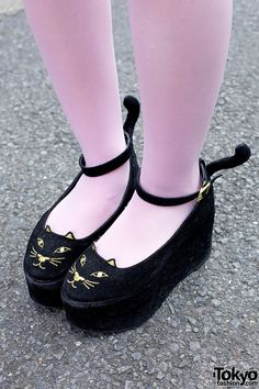 Love Drug Store cat shoes