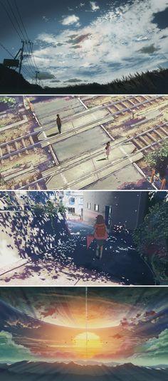 5 Centimeters Per Second (2007) Dir: Makoto Shinkai DP: Makoto Shinkai
