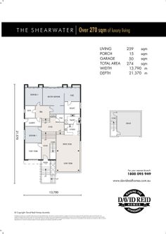 The Nautilus Floor Plan Concept Range David Reid Homes