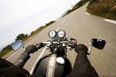 TRIUMPH THRUXTON 900 1st PERSON VIEW RIDE