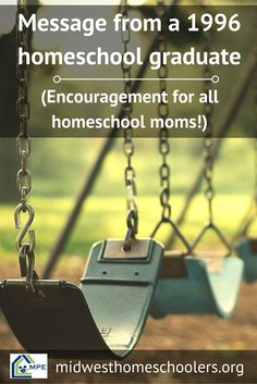 See what a 1996 homeschool graduate thinks of his experience in this incredible speech. Valuable encouragement for every homeschool mom in the trenches!