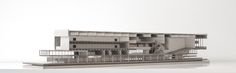 Kongresszentrum Locarno - Modell - Alex Pop, Ralf Mensing, Marius Weber Pop, Architecture, Locarno, Centre, Scale Model, Arquitetura, Popular, Pop Music, Architecture Illustrations