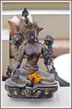 Tara.  The Style of the Leela. Kovalam, India. by Ganga, via Flickr