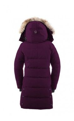 canada goose jas rood