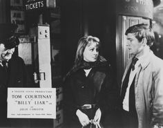 #Sixties |Julie Christie and Tom Courtenay in Billy Liar, 1963