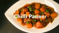 One of the favorite dishes from Indian Chinese cuisine is chilli paneer. This paneer chilli recipe gives a truly restaurant style taste and flavor. Chilli Recipes, Veg Recipes, Vegetarian Recipes, Cooking Recipes, Chilli Paneer Recipe Video, Snack Recipes, North Indian Recipes, Indian Food Recipes, Manchurian Recipe Vegetarian