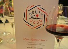 Dîner `Goût de France / Good France` / Kulinarik-Event-Empfehlung auf www.dinnerunddrinks.com