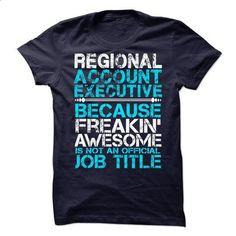 Regional Account Executive - #grey tee #tshirt. I WANT THIS => https://www.sunfrog.com/LifeStyle/Regional-Account-Executive.html?68278