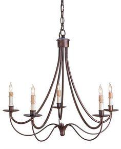 Cascade Chandelier design by Currey & Company