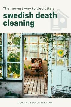 The newest way to declutter_ Swedish Death Cleaning