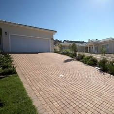 Concrete Brick Paving, Blocks and Cobbles Concrete Paving, Brick Paving, Concrete Bricks, Sidewalk, Deck, It Is Finished, Outdoor Decor, Home Decor, Brick Pavers