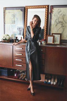 """Julie Pelipas w sesji do drugiego numeru """"Vogue Polska"""" (Fot. Gosia Turczyńska)"""