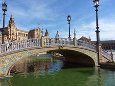 Los puentes de la Plaza España