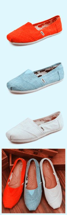 It's pretty cool (: / Toms shoes OUTLET...$20! Need!! I want the blue and white