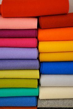 100 Percent Wool Felt Sheets by StitchesandCrafts on Etsy, $2.80