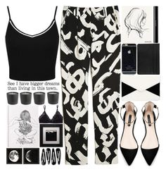 """""""Make your dreams come true this year :)"""" by theapapa ❤ liked on Polyvore featuring Proenza Schouler, Miss Selfridge, Zara, Garance Doré, shu uemura, INDIE HAIR, Talula and Eleanor Long"""