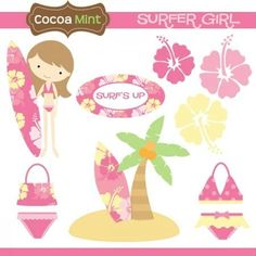 COCOA MINT Surefer girl