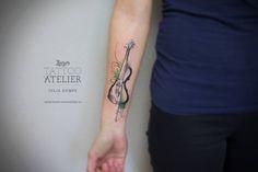 Violin en Acuarelas by Julia Dumps