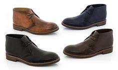Timelessly designed, these lace-up boots are versatile enough to be paired with jeans and a t-shirt or khakis and a casual button-down