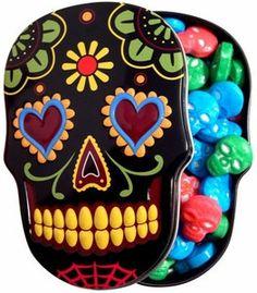 HEART EYES....................................Sugar Skull Tin