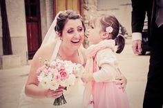 Wedding bouquet with garden roses - By Florésie - Photo Elisabeth Perotin
