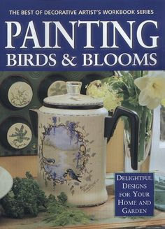 Painting Birds Blooms - TereBauer 1 - Álbuns da web do Picasa...FREE MAGAZINES!!