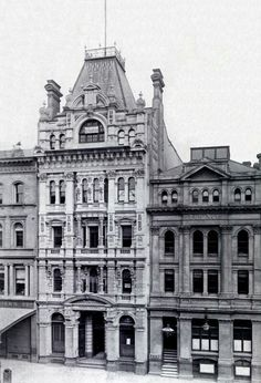 The Premier Building at 230-231 Collins St,Melbourne,Victoria (year unknown).