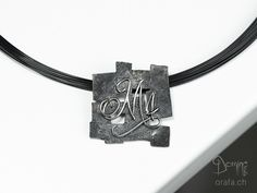 Fragments pendant Dog Tags, Dog Tag Necklace, Pendants, Necklaces, Unique, Handmade, Jewelry, Hand Made, Jewlery