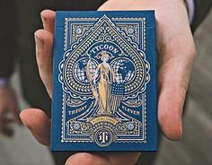Consultez ce projet @Behance: \u201cTheory 11 - Tycoon Playing Cards\u201d https://www.behance.net/gallery/24457455/Theory-11-Tycoon-Playing-Cards