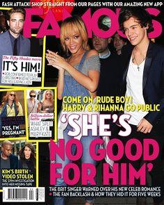 Famous - 15 July 2013 #magazines #magsmoveme  http://au.lifestyle.yahoo.com/famous/