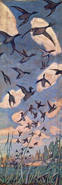 Arthur Lismer, The Ducks, 1916