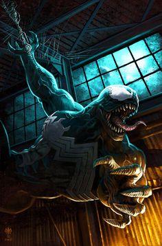 Venom - Stephen Reinfurt   More   Eddie Brock
