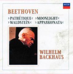 ベートーヴェン:ピアノソナタ「悲愴」「月光」「熱情」「ワルトシュタイン」