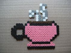Coffee cup hama beads by supercrea