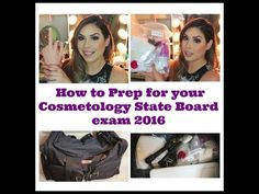 Hey guys, I hope this video is helpful to anyone that is about to take their Cosmetology State Board Practical exam. Cosmetology Practice Test, Cosmetology State Board Exam, Exams Tips, Study Tips, Beauty Makeup, Prepping, Goal, Hair Cuts, Boards
